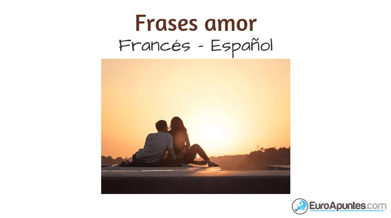 Francés Español Frases Amor