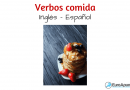 Inglés gratis verbos comida